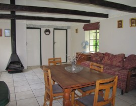 Cottage view from Kitchen Copy 270x210 Cederberg Cottages